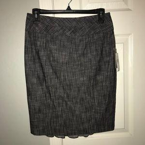 Women's Gray Pencil Skirt